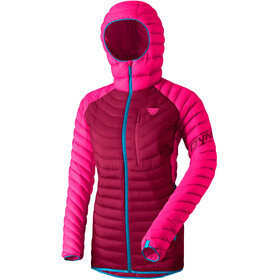 Dynafit Radical Down Hooded Jacket Women, flamingo